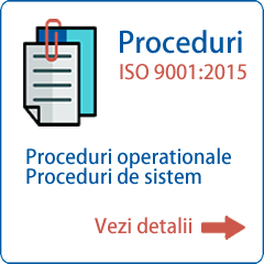 Proceduri ISO 9001 2015