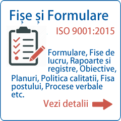 Pret Formulare ISO 9001