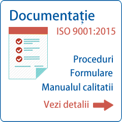 Documentatie ISO 9001 2015