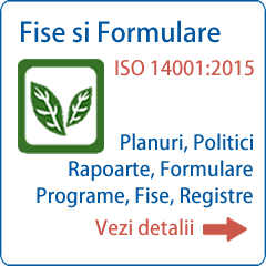 Documentatie ISO 14001 Formulare