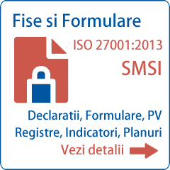 Documentatie ISO 27001 Formulare