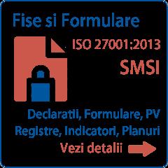 Documentatie ISO 27001 Formulare