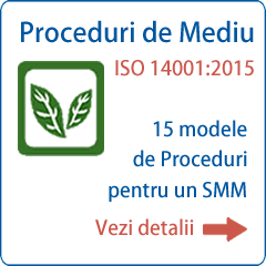 Documentatie ISO 14001 Proceduri