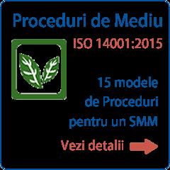 Documentatie ISO 14001 Proceduri
