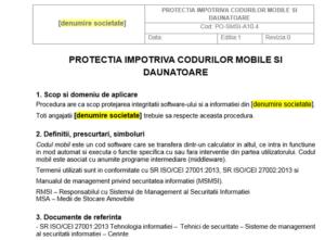 Procedura ISO 27001