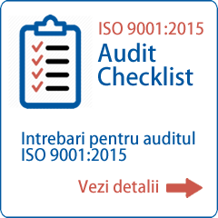 Chestionar audit ISO 9001