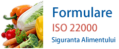 Formulare HACCP ISO 22000