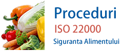 Proceduri HACCP ISO 22000