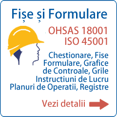 Formulare ISO 45001